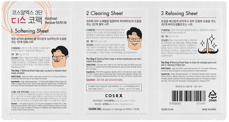 Cosrx Blackhead Remover Mr.RX Kit