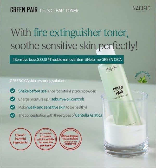 Nacific Greenpair Plus Clear Toner 1