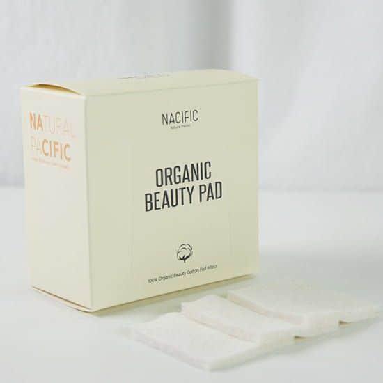 Bông tẩy trang hữu cơ Nacific Organic Beauty Pads 60 miếng