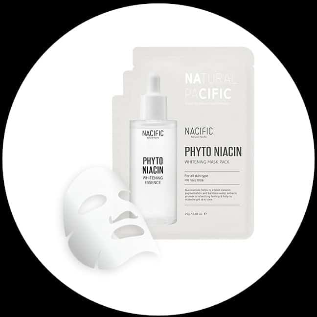 Nacific Phytoniacin Whitening Mask Pack