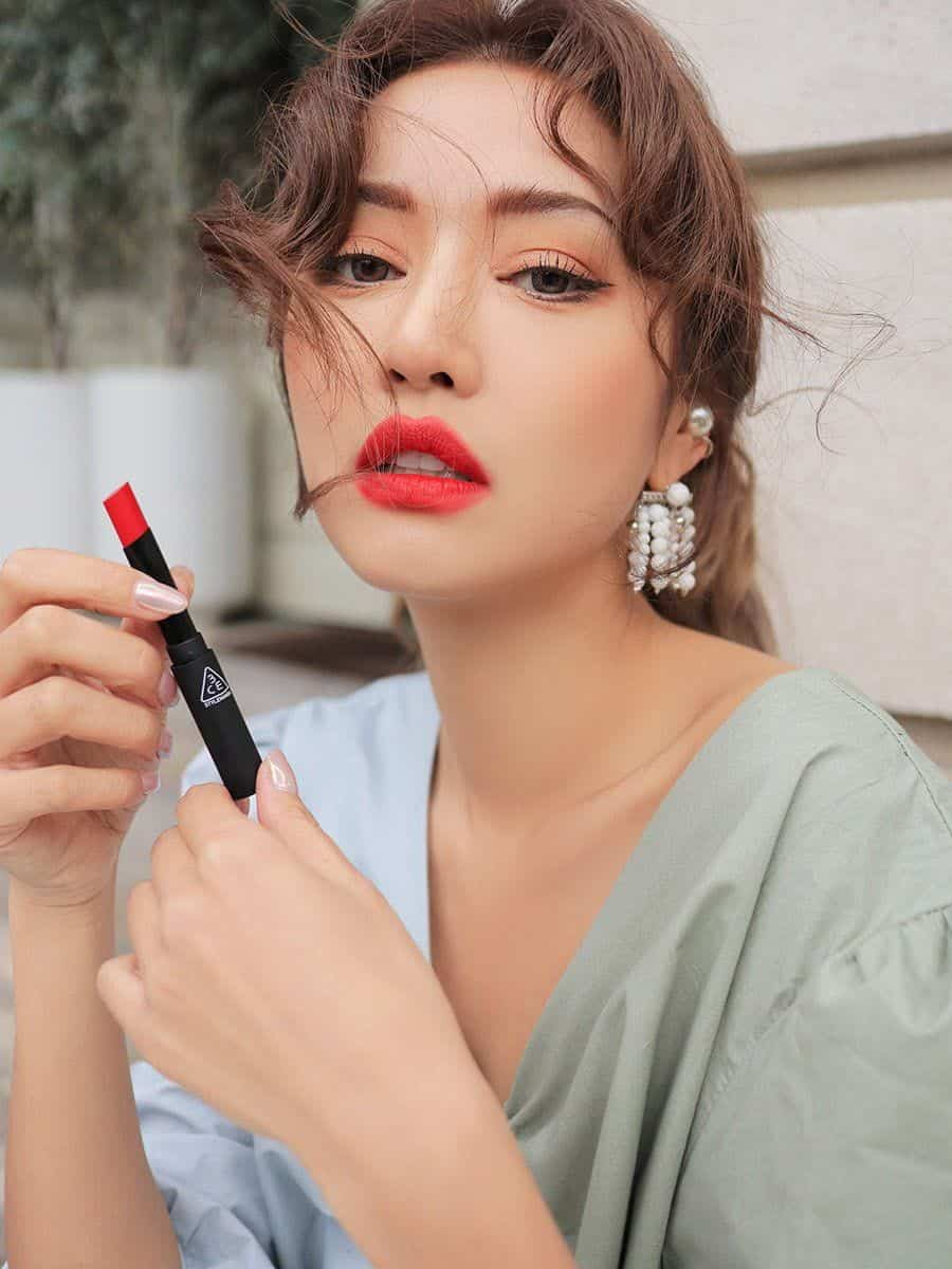 3CE Slim Velvet Lip Color Pale Red