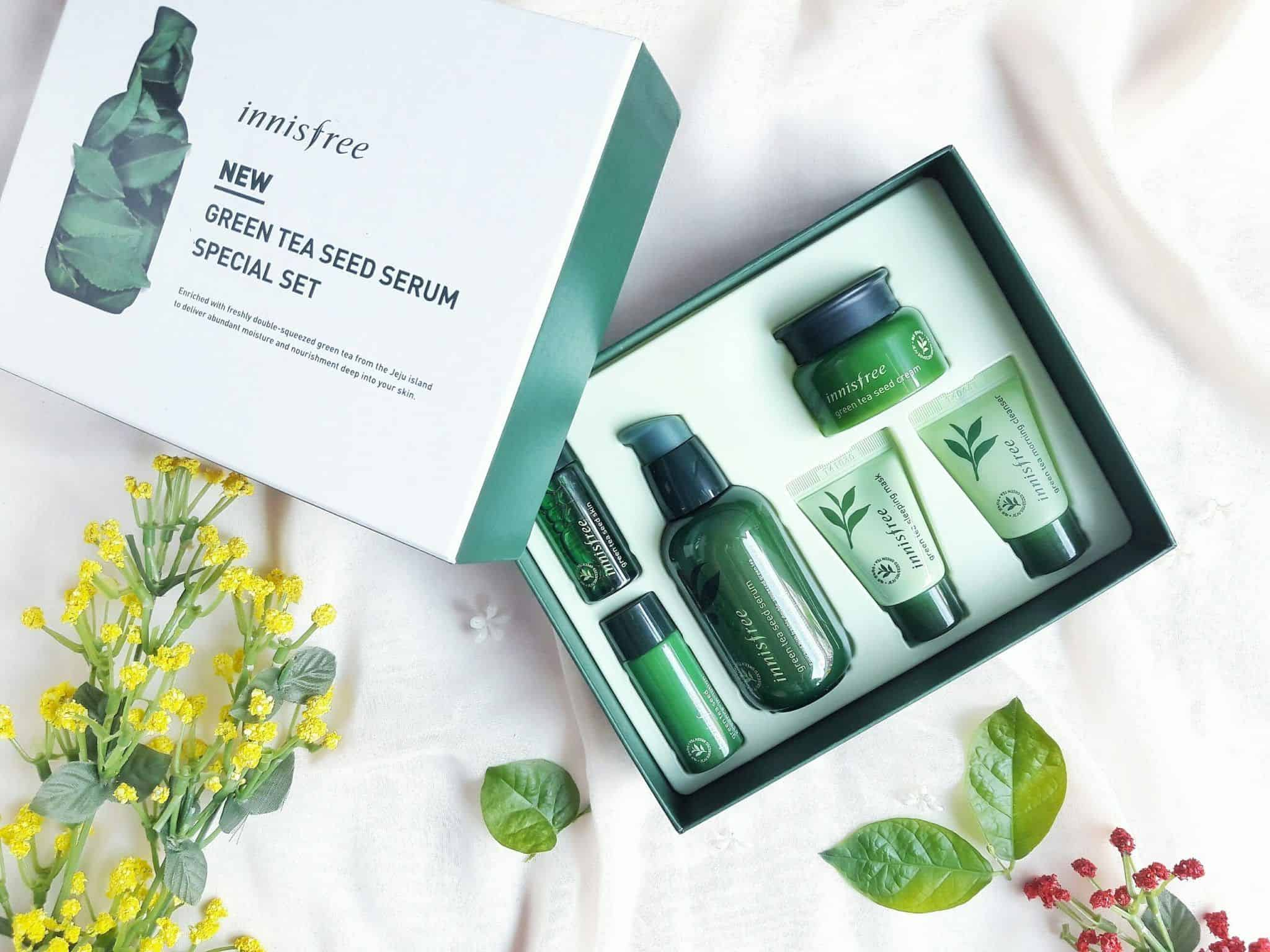 Innisfree Green Tea Seed 2018