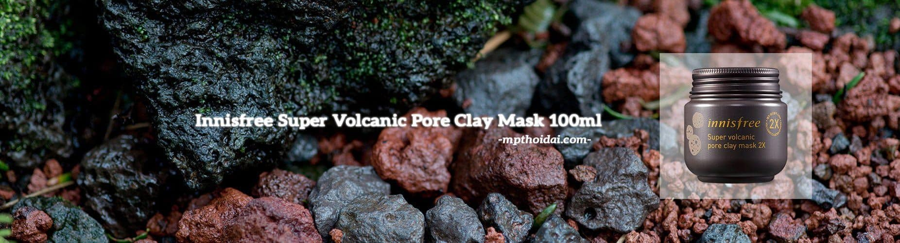 Innisfree Super Volcanic Pore Clay Mask X2
