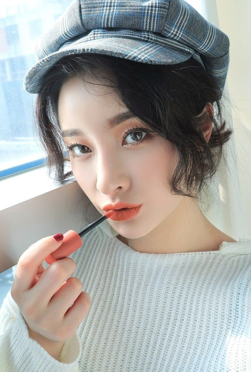 3CE Soft Lip LacquerPeach Tea