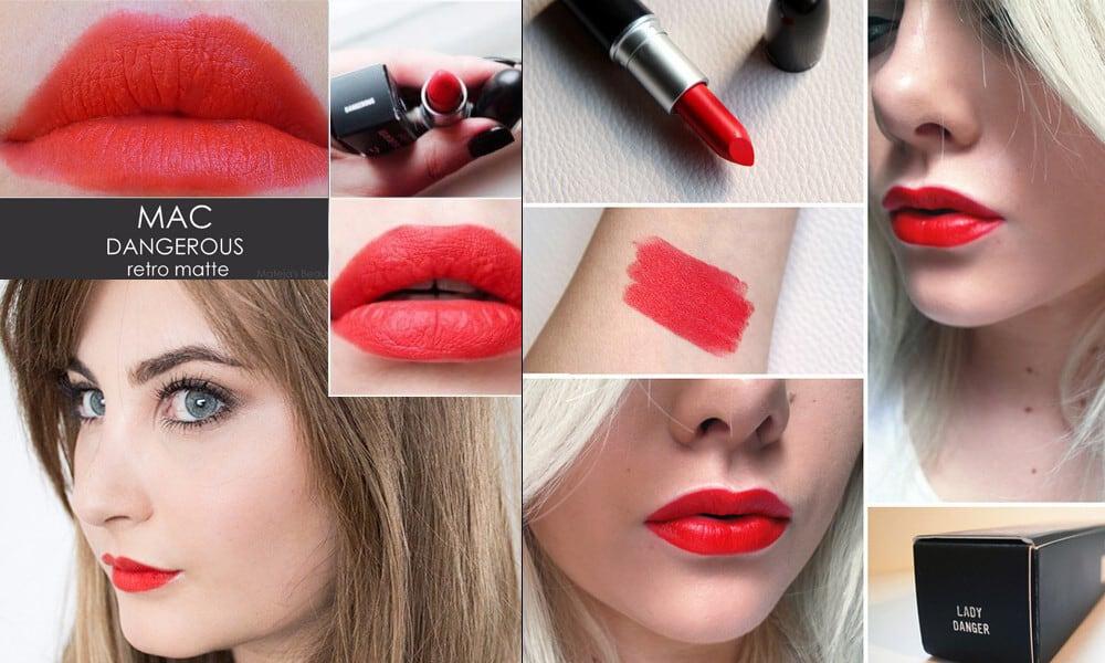 MAC Retro Matte Lipstick - Dangerous 7