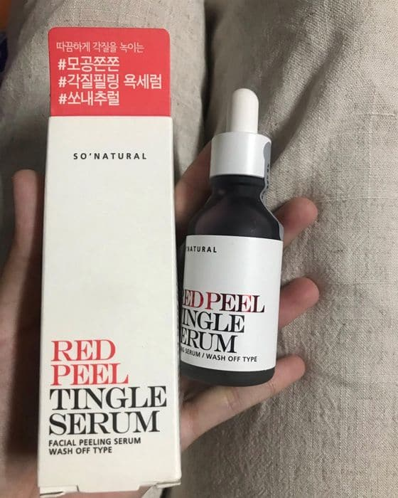 Tinh Chất Tẩy Da Chết Red Peel Tingle Serum 35ml 3