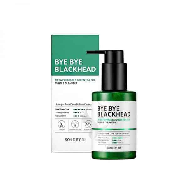 Sữa rửa mặt Sủi Bọt Loại Bỏ Mụn Đầu Đen Some By Mi Bye Bye Blackhead được biết đến là một sản phẩm giúp thải độc da nhờ nguyên lý sủi bọt.